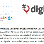 All Digital Week: una tre giorni di cittadinanza digitale a DigiPASS Foligno