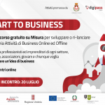 """Start to business"": via al percorso per imprenditori e professionisti"