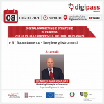 Scegliere gli strumenti: 5° appuntamento Digital Marketing